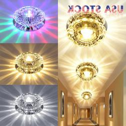 1/2/4pcs 3W 5W Chandelier Lamp Diamond LED Ceiling Light Cry