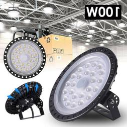100W LED High Bay Light Industrial Pendant Hanging Ceiling D