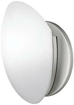 Kichler 1Light Swiss Passport Wall Light Brushed Nickel