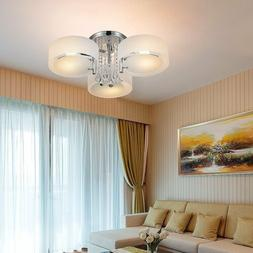 3 Crystal Ceiling Light Modern, Living/Dining Room Bedroom P