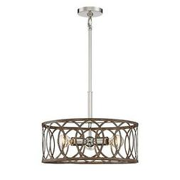 Home Decorators Collection 3-Light Polished Nickel/ Corona B