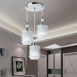 Modern Petal Ceiling 3 LED Light Pendant Lamp Dining Room Ch