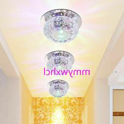 3w 5w crystal led ceiling light fixture