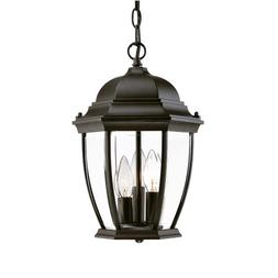 Acclaim 5036BK Wexford Collection 3-Light Outdoor Light Fixt