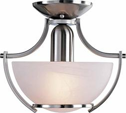 Monument 617574  Pendant, Brushed Nickel, 10-3/4 X 9-1/2 In.