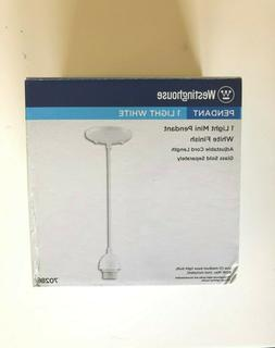 Westinghouse Lighting 70286 Single Light Mini Pendant Kit, W