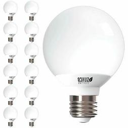 Sunco Lighting 12 Pack G25 LED Globe, 6W=40W, Dimmable, 5000