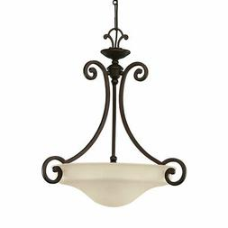 Acadia Pendant in Misted Bronze