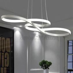 Acrylic Modern LED Ceiling Light Lamp Pendant Dining Room Di