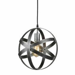 Axiland Atom Axis Brushed Metal Ceiling Mount Light With 6 E
