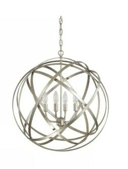 Capital Lighting Axis Collection 4-light Winter Gold Pendant