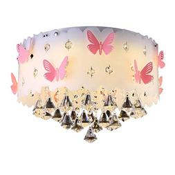 Chandelier Bedroom Lamp Girl Blue Lamp Kids Lamp Butterfly M