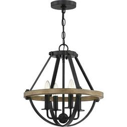 Quoizel Lighting-BRL2816EK-Bartlett - Four Light Pendant  Ea