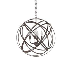 Capital Lighting 4234RS 4 Light Pendant in Russet Finish fro