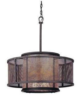 Troy Lighting Copper Mountain Ceiling Mount Pendant Light -
