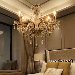 Elegant Crystal Chandelier Modern Ceiling Light 4 Lamp Penda