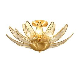 European Luxury Brass LED Energy Saving Pendant Ceiling Lamp