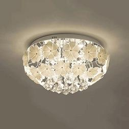 European Luxury Crystal Pendant Ceiling lamp, Creative Glass