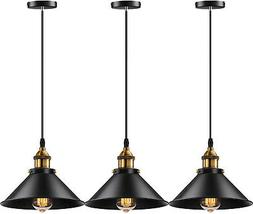 Industrial Ceiling Pendant 3 Lamp Cafe Bar Home Kitchen Ligh