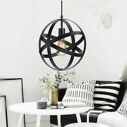 KingSo Industrial Metal Pendant Light Spherical Pendant Ligh