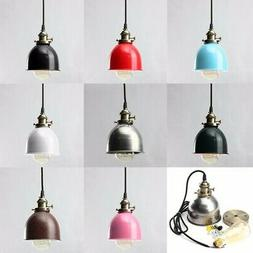 Industrial Pendant Ceiling Light Fixture Hanging Vintage Sta