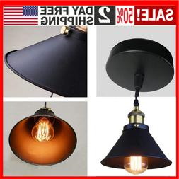 Industrial Vintage Ceiling Pendant Light E26/27 Base Holder