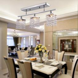 Y&L® Ecopower Lighting Glass & Crystal Pendant Lighting Mod