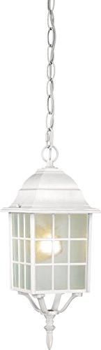 Nuvo 'Adams' 1-light White 16-inch Hanging Fixture