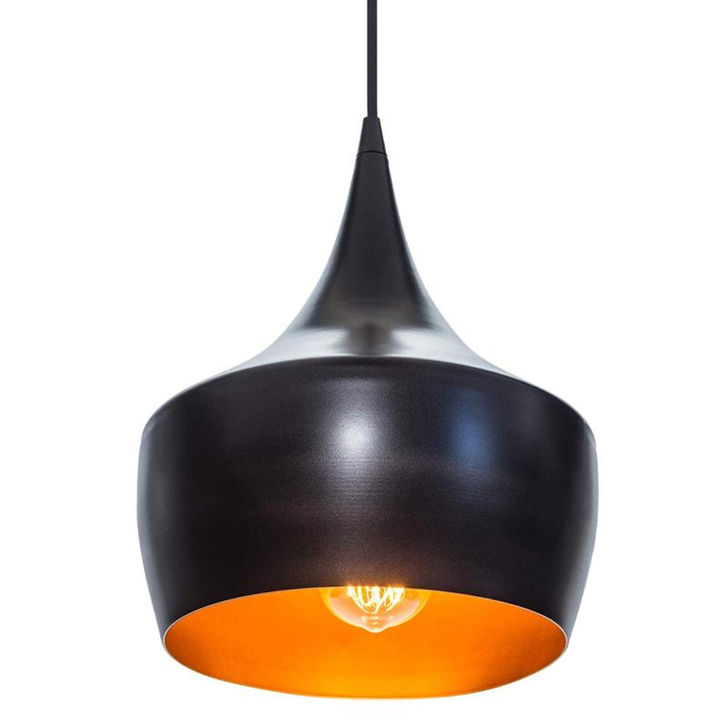 Globe Modern Pendant, Oil Rubbed Bronze, Gold