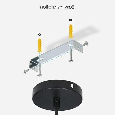 2Pack Industrial Hanging Shade Fixture