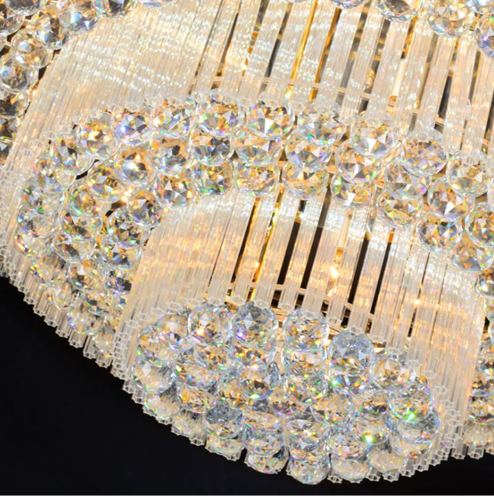 3 Layers Chandeliers Remote Pendant Ceiling