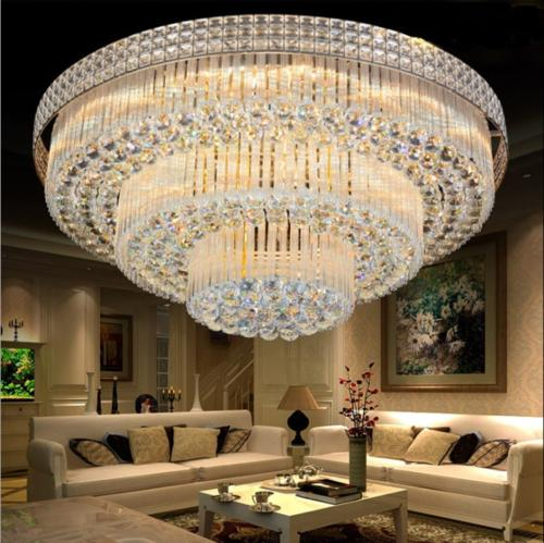 3 Layers Chandeliers Remote Control Pendant
