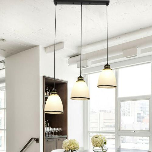 3 Lights Pendant Shade Shape Lamp