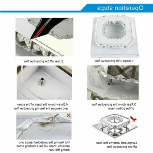 36W Light Pendant Lamp Flush Mount