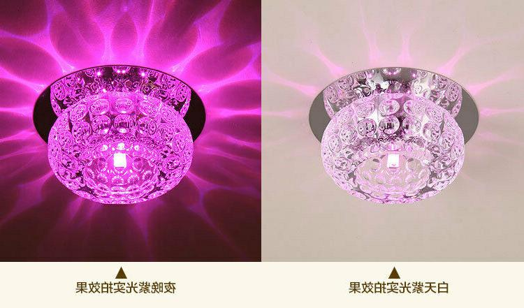 3W/5W Crystal LED Light Fixture Lighting