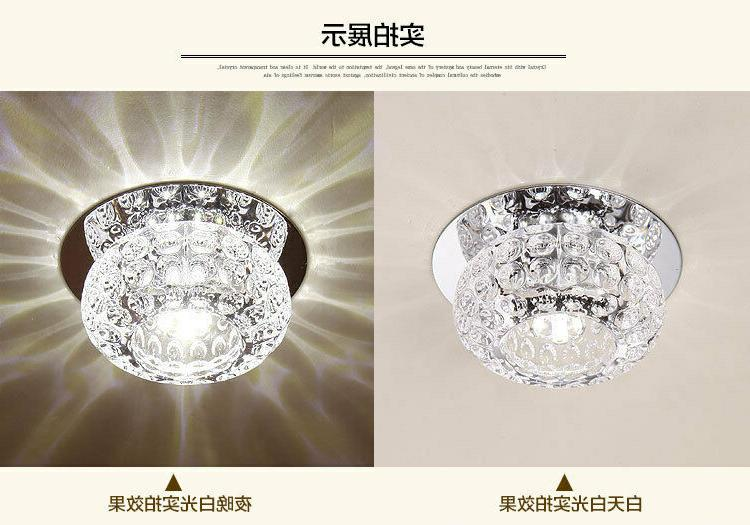 3W/5W Crystal LED Ceiling Light Pendant Lighting