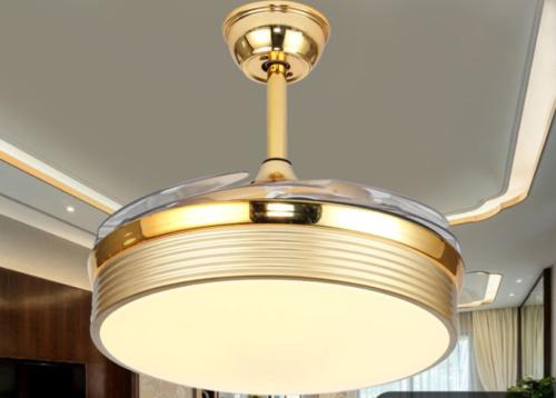 """42"""" Chandeliers Lighting 3 Color Ceiling Lamp Remote"""
