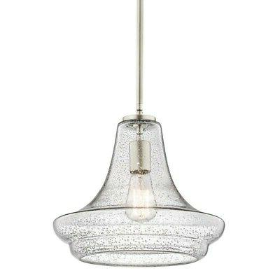 Kichler 42328CS Pendants Everly Indoor Lighting; Brushed Nic