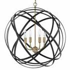 Capital Lighting 4234AB Axis 4-Light Full Sized Globe Pendan
