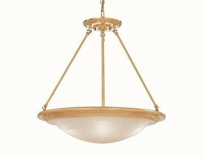 Designers Fountain 5442-PB Polished Brass 3 Light Bowl Chand