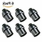 6 Pack E26 E27 Light Socket KINGSO Edison Retro Pendant Lamp