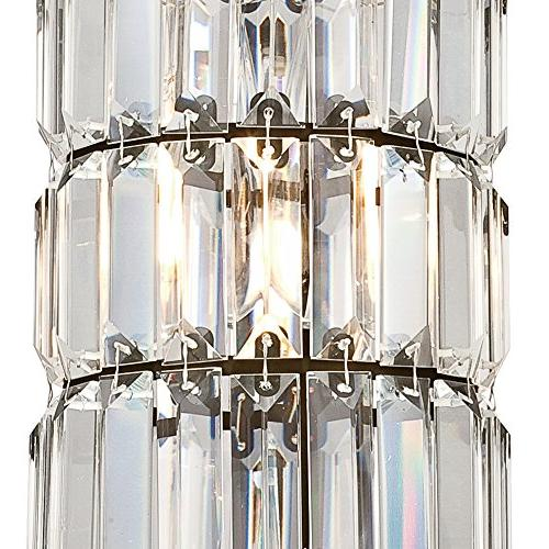 Westinghouse 6338400 One-Light Indoor Pendant, Rubbed Finish Crystal