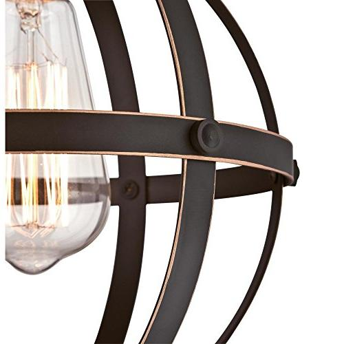 Westinghouse One-Light Bronze Finish with Indoor Pendant, ORB