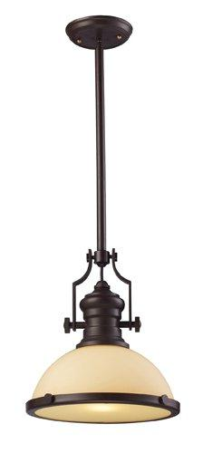 ELK Lighting 66133-1 Chadwick Pendants Oiled Bronze