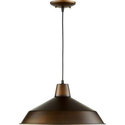 Quorum Lighting 6822-86 Pendant Light, Oiled Bronze
