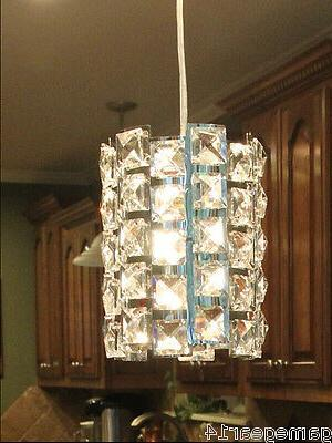 Crystal pendant light fixture chandelier lamp for kitchen is