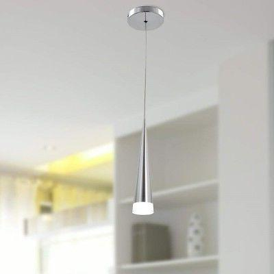 acrylic pendant light fixture hanging chrome ceiling