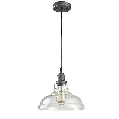 AXILAND Rustic Lighting Clear Glass Light for Kitche...