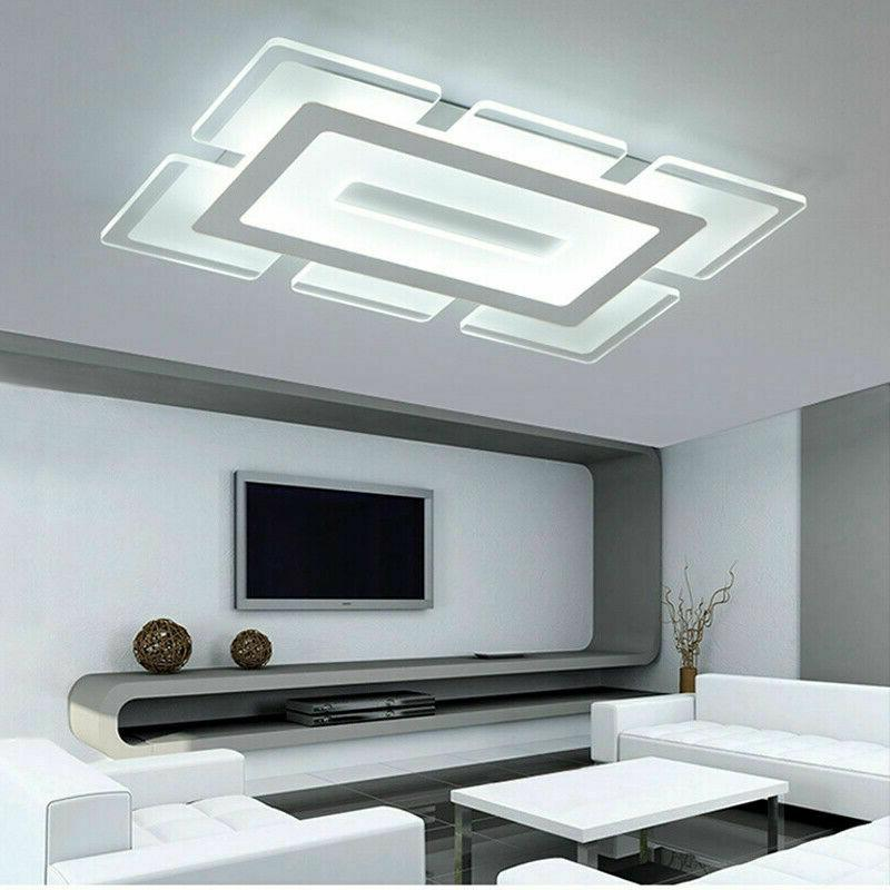 Contemporary Mount Lighting LED Light Acrylic Ceiling Lamp