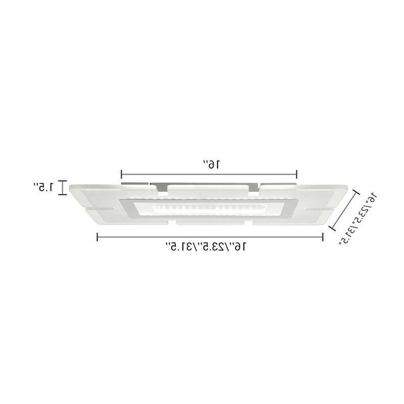 Contemporary Mount LED Kitchen Light Acrylic Ceiling Lamp